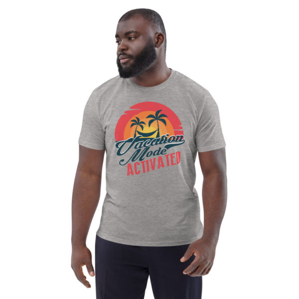 unisex organic cotton t shirt heather grey front 614dd1778127a