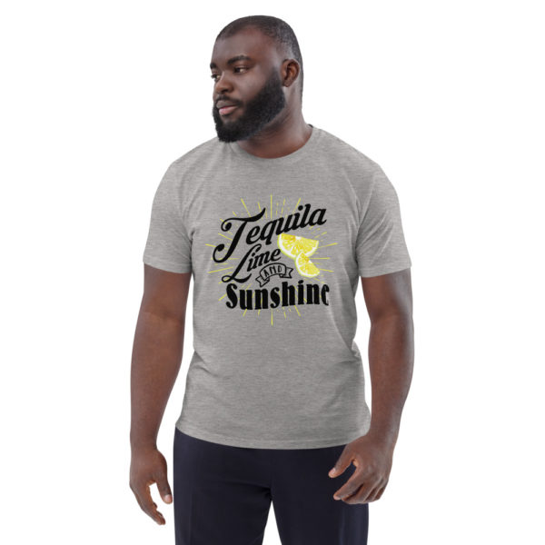 unisex organic cotton t shirt heather grey front 614dd3ada33bf