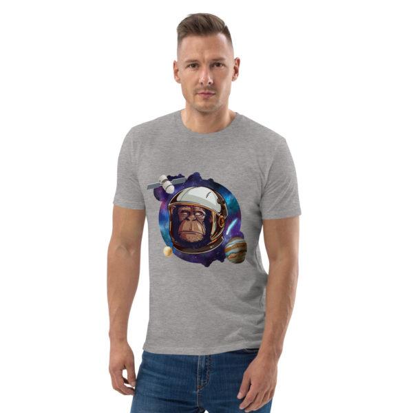 unisex organic cotton t shirt heather grey front 614dd5136b45d