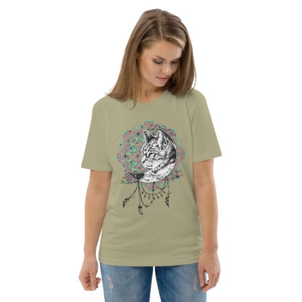 unisex organic cotton t shirt sage front 2 614dd263cec7d