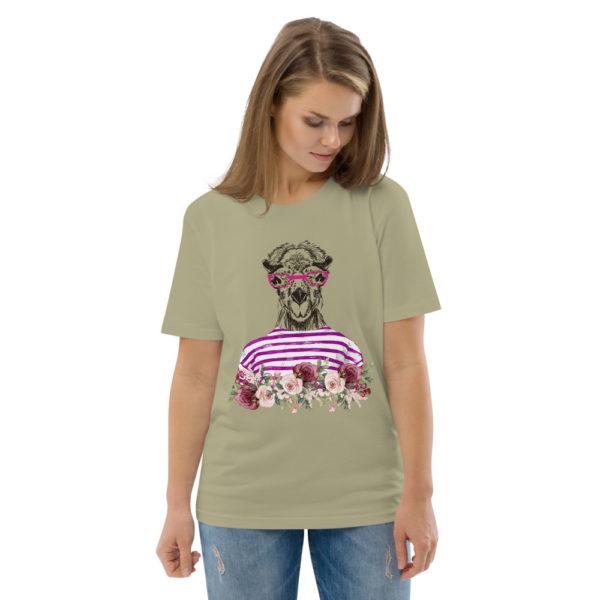 unisex organic cotton t shirt sage front 2 614dd56a13e67