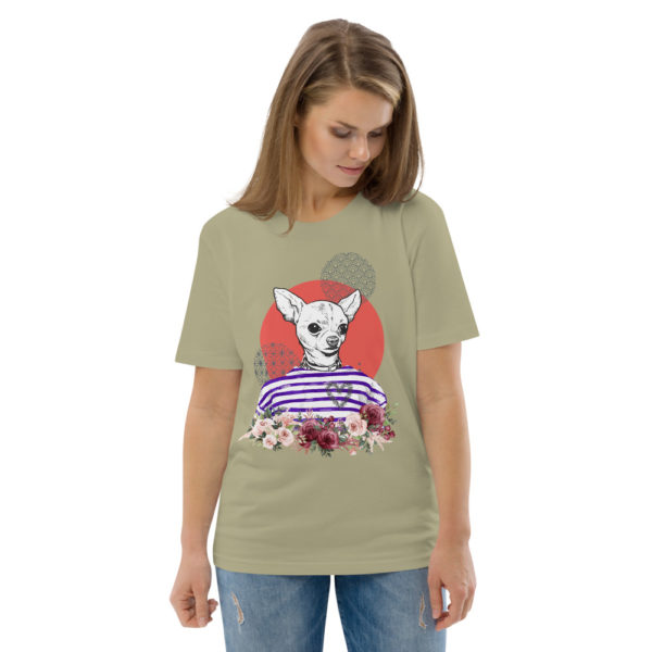 unisex organic cotton t shirt sage front 2 614dd5d11c09b