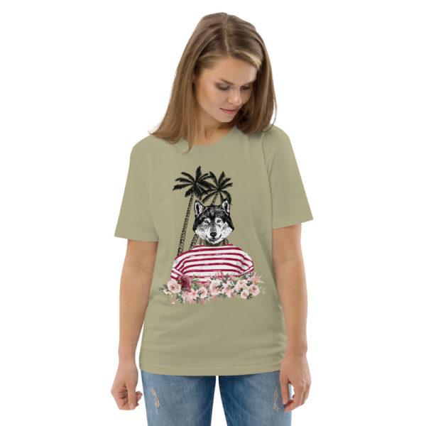 unisex organic cotton t shirt sage front 2 614dd85ed275f