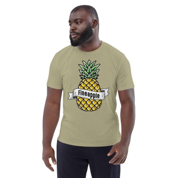 unisex organic cotton t shirt sage front 6144a5024959b