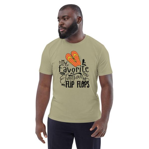 unisex organic cotton t shirt sage front 6144a898959b6