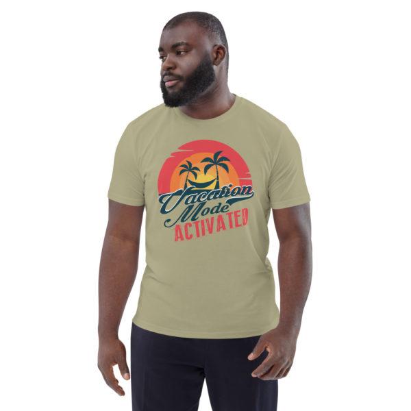 unisex organic cotton t shirt sage front 614dd17780ec4
