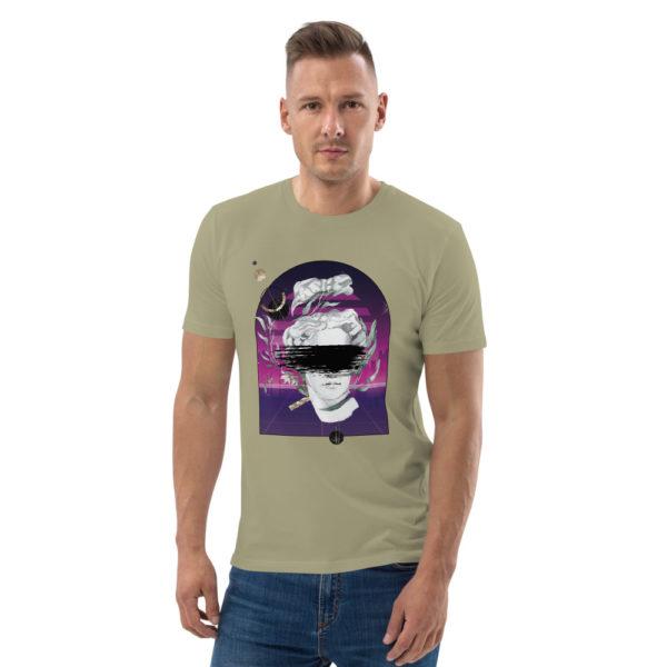 unisex organic cotton t shirt sage front 614dd451a359a