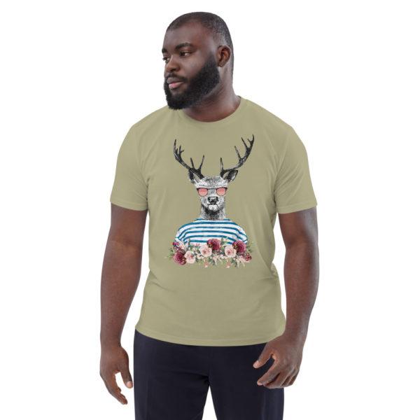 unisex organic cotton t shirt sage front 614dd6989961c