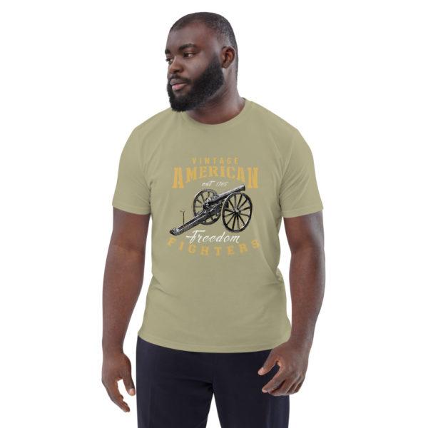 unisex organic cotton t shirt sage front 614dd8ba62ef4