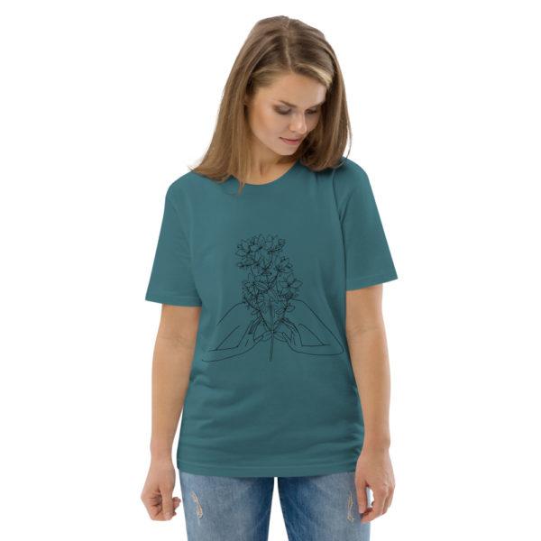 unisex organic cotton t shirt stargazer front 2 6144a54a046e0