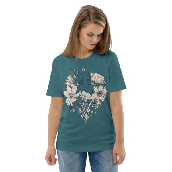 unisex organic cotton t shirt stargazer front 2 614dd07a35858