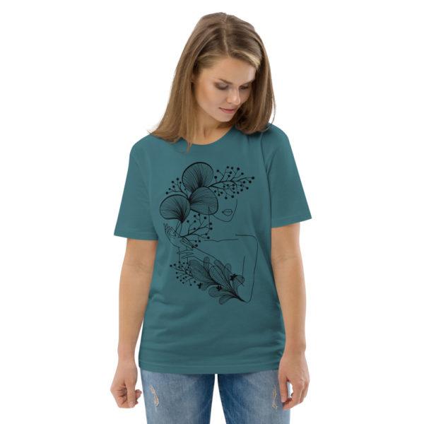 unisex organic cotton t shirt stargazer front 2 614dd21846657
