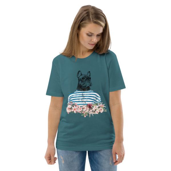 unisex organic cotton t shirt stargazer front 2 614dd6f4a6936