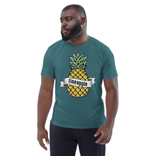 unisex organic cotton t shirt stargazer front 6144a50249175