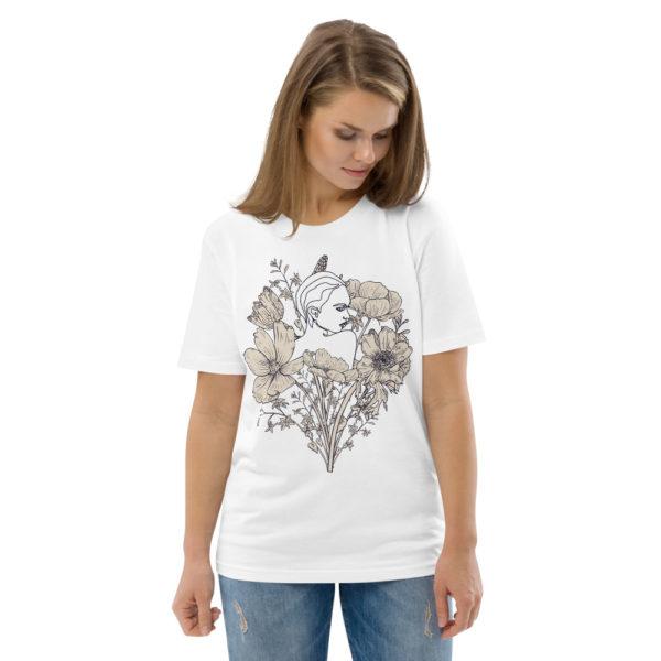 unisex organic cotton t shirt white front 2 614dd07a35eb8