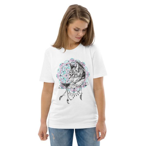 unisex organic cotton t shirt white front 2 614dd263cf369