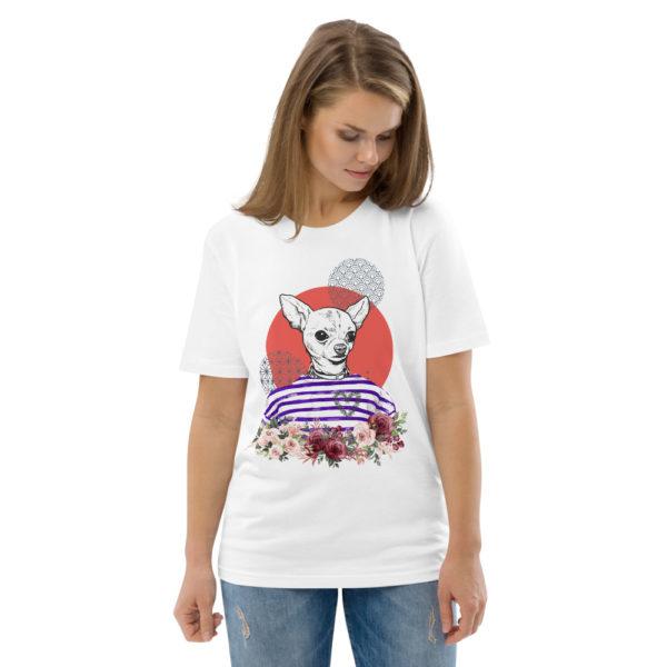 unisex organic cotton t shirt white front 2 614dd5d11cab4