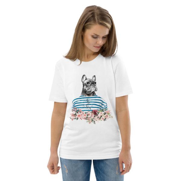 unisex organic cotton t shirt white front 2 614dd6f4a70b8