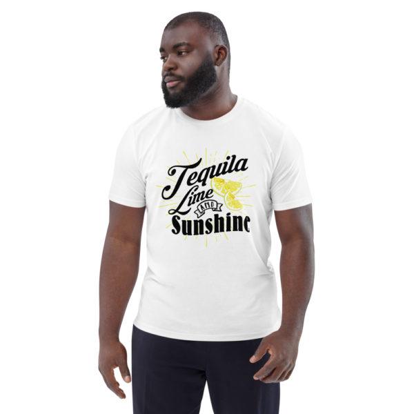 unisex organic cotton t shirt white front 614dd3ada1ea6