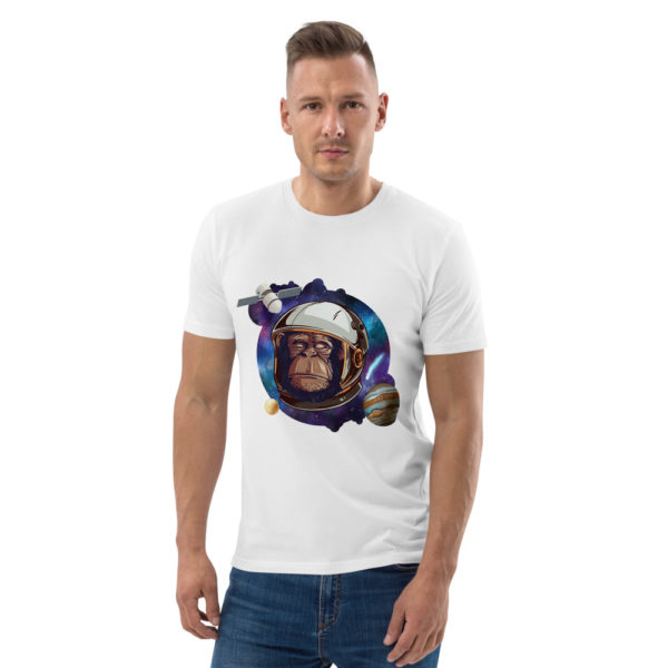 unisex organic cotton t shirt white front 614dd5136ba7b