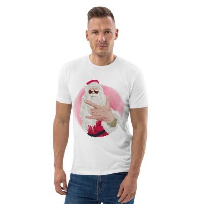 unisex organic cotton t shirt white front 614dda55dfe38