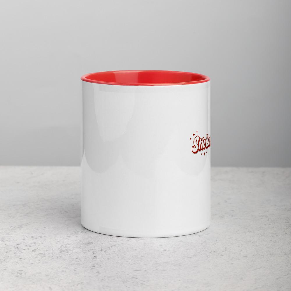 white ceramic mug with color inside red 11oz front 6166bd774cbca